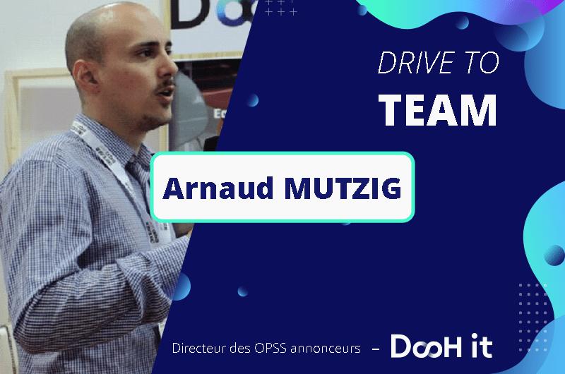 Drive to TEAM – Arnaud Mutzig
