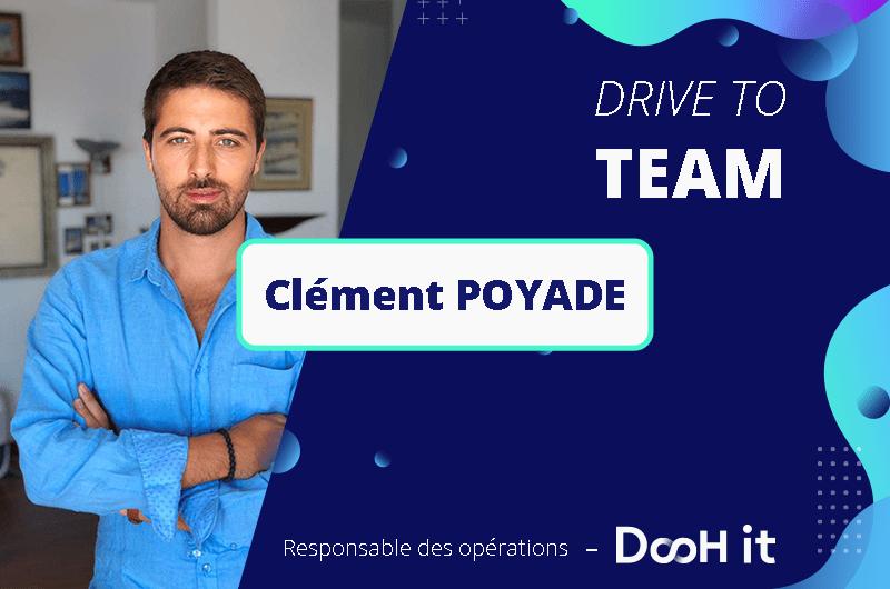 Drive to TEAM – Clément Poyade
