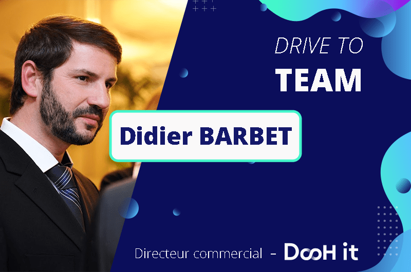 Drive to TEAM – Didier Barbet