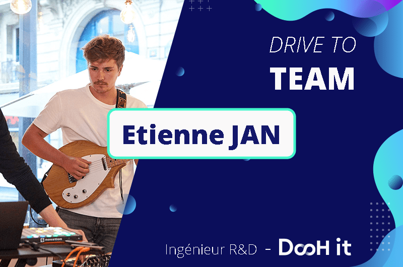 Drive to team – Etienne JAN