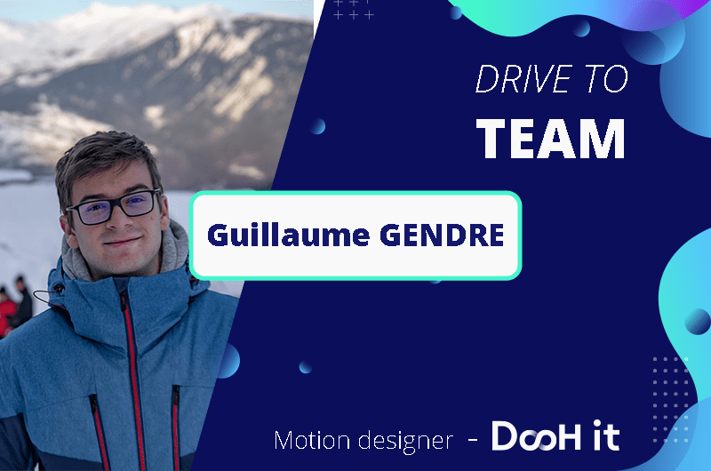 Drive to TEAM – Guillaume Gendre