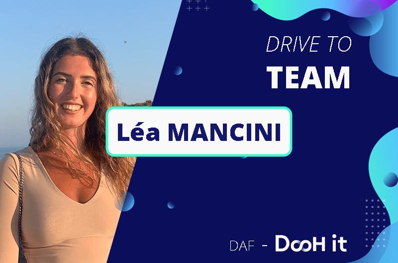 Drive to TEAM – Léa Mancini