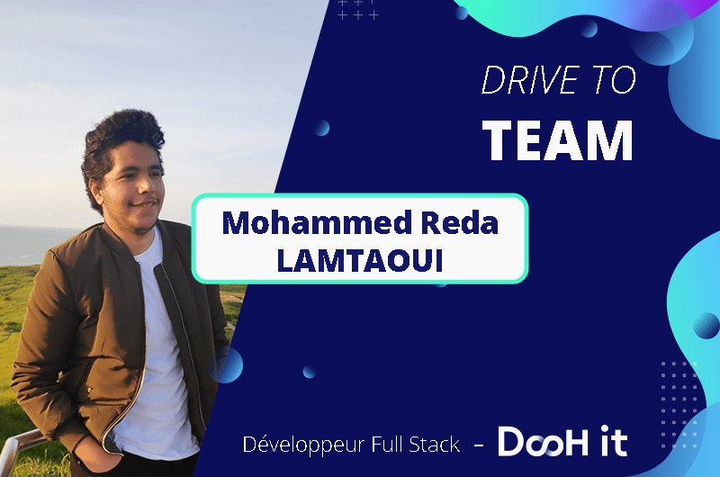 Drive to TEAM – Mohammed Réda Lamtaoui