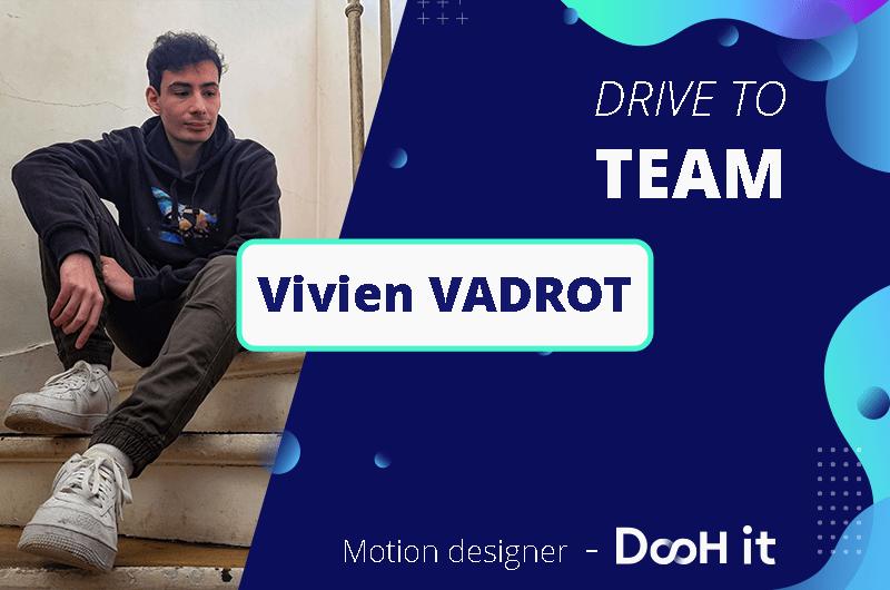 Drive to TEAM – Vivien Vadrot